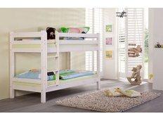 Detská poschodová posteľ Barco 180x80 cm - biela