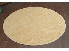 Okrúhly koberec SERENADE - zlatý