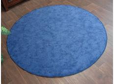 Okrúhly koberec SERENADE - svetlo modrýKulatý koberec SERENADE - modrý