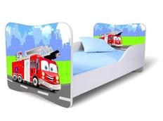 Detská posteľ 140x70 cm - HASIČI