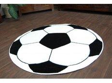 Detský koberec KOPAČÁK biely
