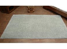 Kusový koberec SHAGGY - sivý