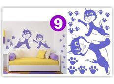 Detské samolepky KIDS color - vzor 3-9