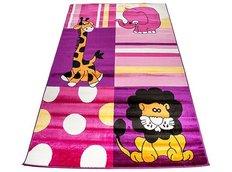 Detský koberec AFRIKA pink