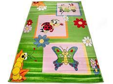 Detský koberec Zeleni CHROBÁČIKY