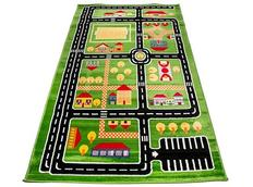 Detský koberec GREEN TOWN 2