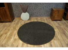 Okrúhly koberec KOLO LAS VEGAS hnedý