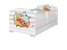 Detská posteľ Disney - MACKO PÚ A TIGRÍK