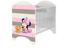 Detská postieľka Disney - MYŠKA MINNIE BABY