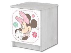 Detský nočný stolík Disney - MYŠKA MINNIE