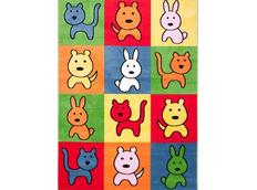 Detský koberec COLOR ANIMALS 2