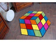 Detský koberec Rubikova kocka 1546