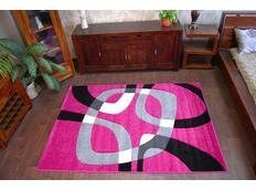 Moderné koberec Orgován H203-8405
