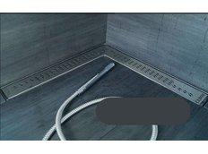 Odtokový sprchovací žľab EURO rohový