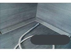 Odtokový sprchovací žľab IDEA rohový