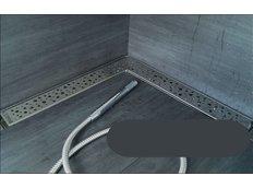 Odtokový sprchovací žľab RAIN rohový