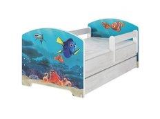 Detská posteľ Disney - HĽADÁ SA NEMO 160x80 cm