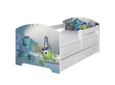 Detská posteľ so zásuvkou Disney - PRÍŠERKY sro 160x80 cm