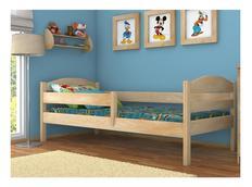 Detská posteľ z masívu bez šuplíku - DP017