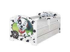 Detská posteľ Disney - 101 dalmatíncov 160x80 cm