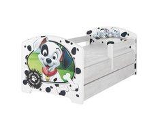 Detská posteľ Disney - 101 dalmatíncov 140x70 cm