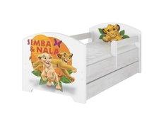 Detská posteľ Disney - Leví Kráľ 160x80 cm