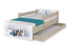 Detská posteľ MAX Disney - FROZEN 160x80 cm - so zásuvkou