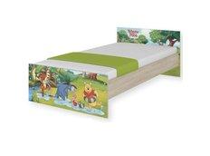 Detská posteľ MAX Disney - MACKO PÚ II 160x80 cm - bez šuplíku