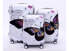 Moderné cestovné kufre BUTTERFLY