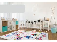Detský koberec Soft - ZIMNÉ sovička