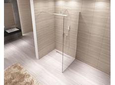 Kúpeľňová pevná zástena AERO 80 cm
