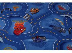 Detský koberec Cars modrý