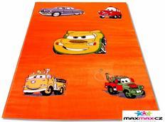 Detský koberec CARS Orenga - detské koberce