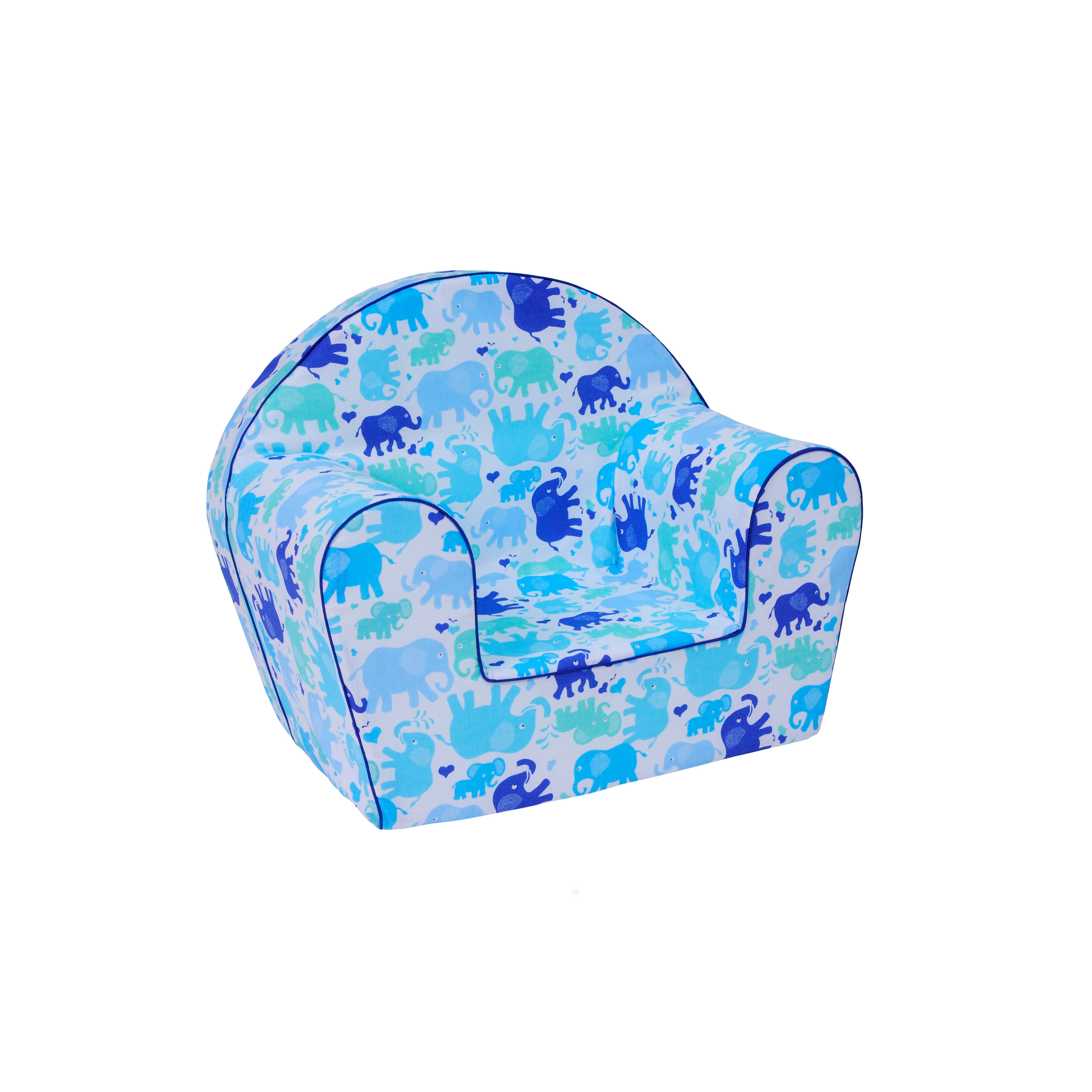 5a906f7f8a0f Detské kresielko MINI - SLONI modré ...