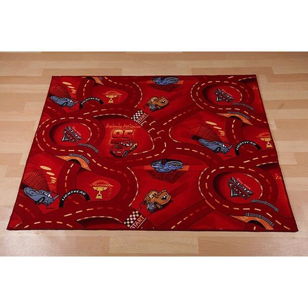Detský koberec CARS červený