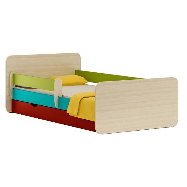 Detská posteľ so zásuvkou COLOR 200x90 cm