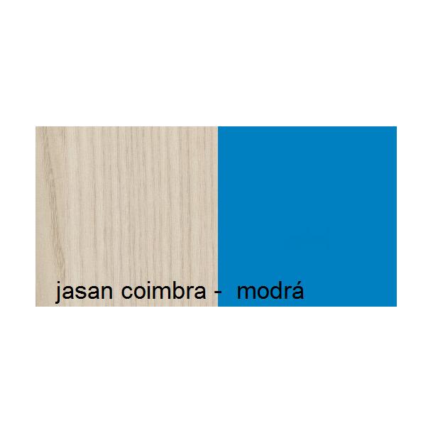 Farebné prevedenie - jaseň coimbra / modrá