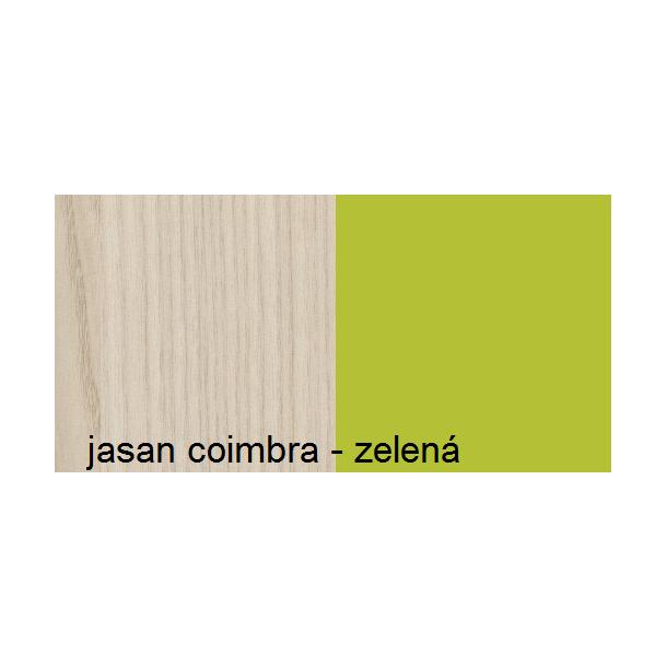 Farebné prevedenie - jaseň coimbra / zelená