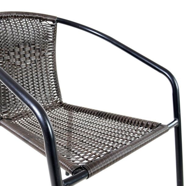 Záhradná ratanová stolička Patricia