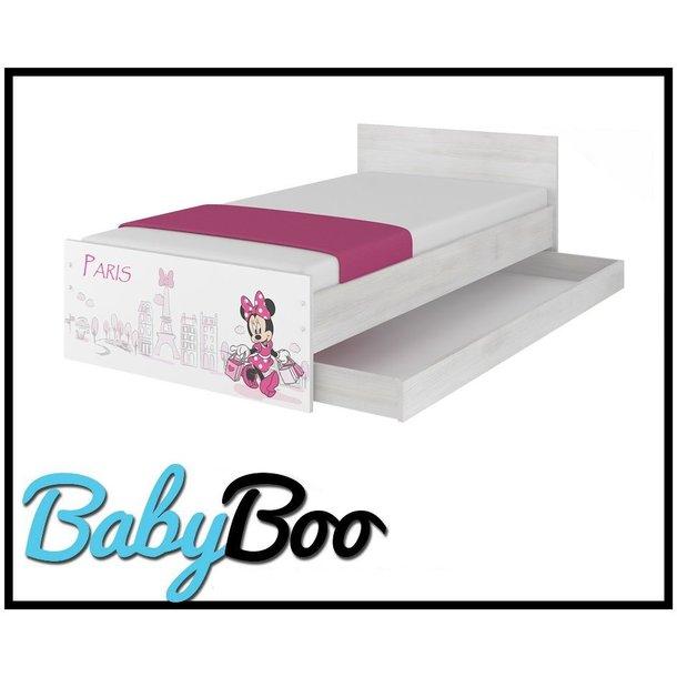 Detská posteľ MAX bez zásuviek Disney - MINNIE PARIS 180x90 cm