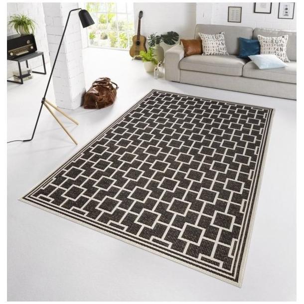 Kusový koberec Botany Bay - čierny