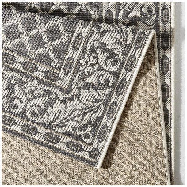 Kusový koberec Botany Royal - sivý