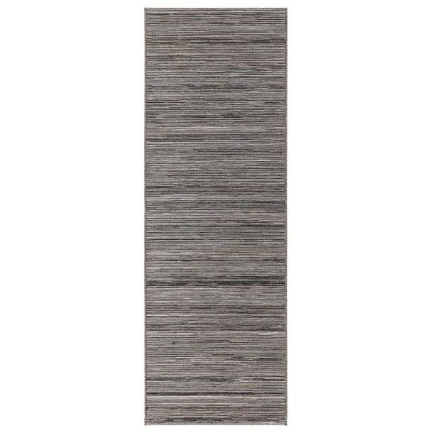 Vonkajší kusový koberec Lotus Meliert - sivý