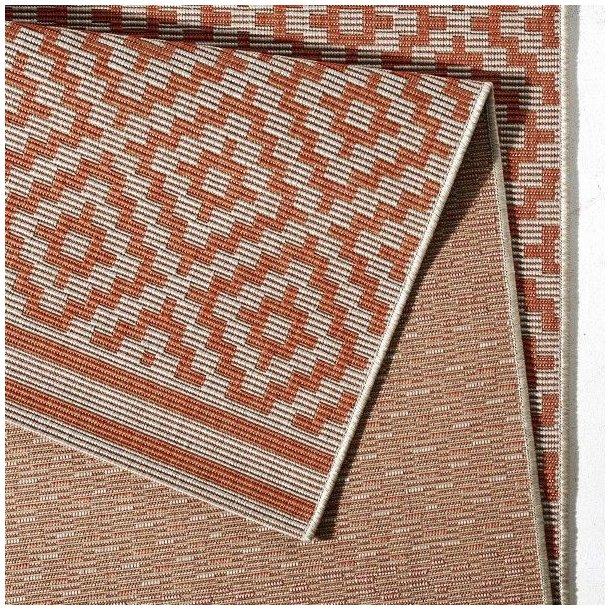 Kusový koberec Meadow Raut - oranžový