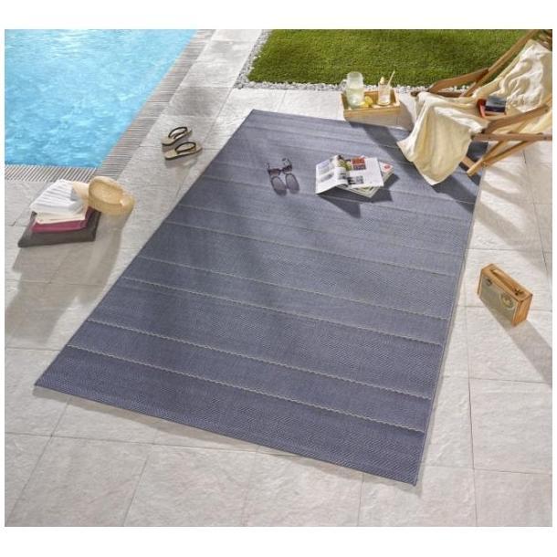 Kusový koberec Sunshine - džínsová modrý