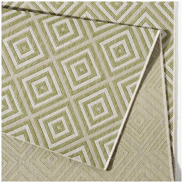 Kusový koberec Meadow Karo - zelený