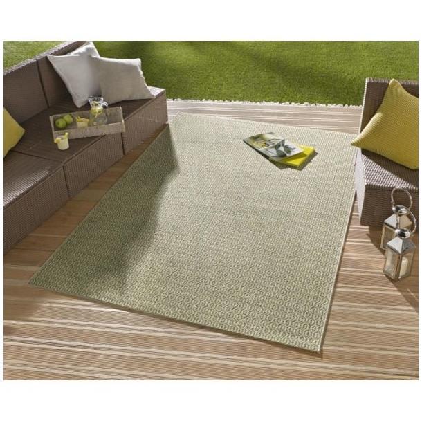 Kusový koberec Meadow Coin - zelený