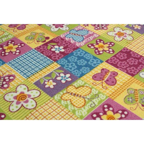 Detský koberec BUTTERFLY