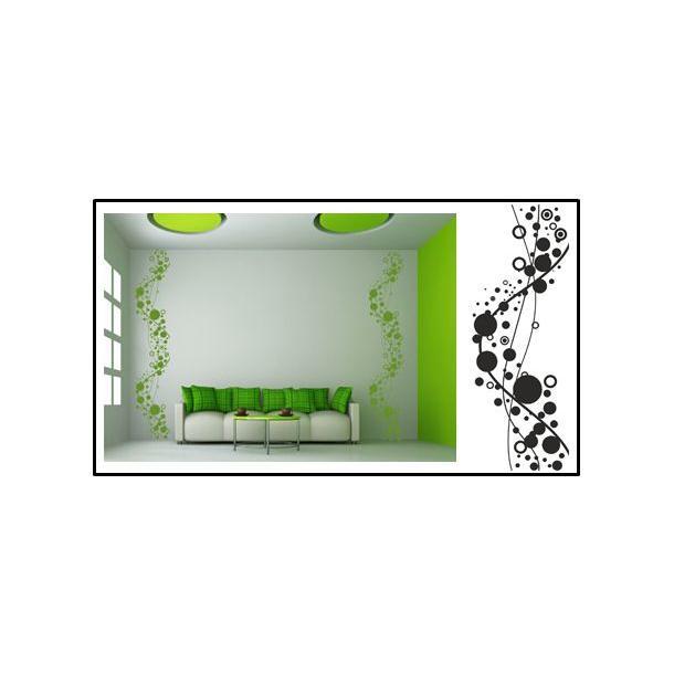 Samolepky na stenu bordúry COLOR - vzor 13