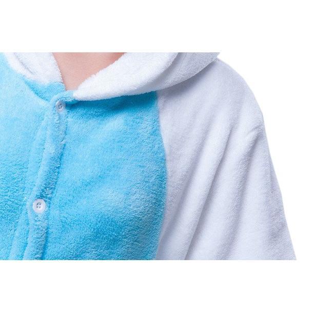Overal KIGURUMI - jednorožec modrobiely